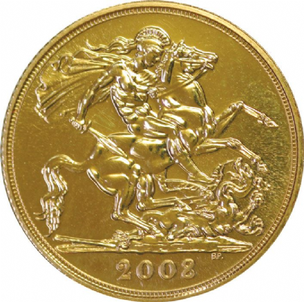 2008 Gold Half Sovereigns